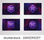 linear banner with... | Shutterstock .eps vector #1045295257