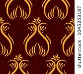 endless abstract pattern.... | Shutterstock .eps vector #1045353187