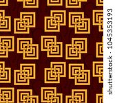 endless abstract pattern.... | Shutterstock .eps vector #1045353193