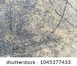 old black plastic surface... | Shutterstock . vector #1045377433