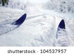 Cross Country Ski - stock photo