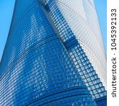 the shanghai tower is a 632... | Shutterstock . vector #1045392133