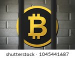 bitcoin currency buying and... | Shutterstock . vector #1045441687