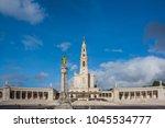 fatima is located in the centro ... | Shutterstock . vector #1045534777