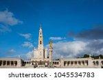 fatima is located in the centro ... | Shutterstock . vector #1045534783