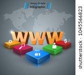 www  web  internet   business... | Shutterstock .eps vector #1045566823