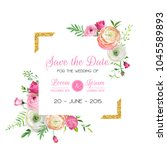 Save The Date Card Template...