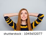 people done finish complete... | Shutterstock . vector #1045652077