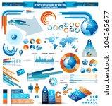 premium infographics master... | Shutterstock .eps vector #104565677