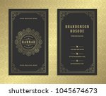 luxury business card and... | Shutterstock .eps vector #1045674673