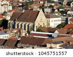 the reformed church of cluj...   Shutterstock . vector #1045751557