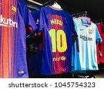 barcelona   mar 13  messi... | Shutterstock . vector #1045754323