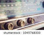 close   up button of vintage... | Shutterstock . vector #1045768333