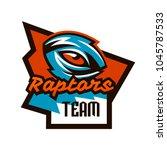emblem  badge  sticker  logo of ... | Shutterstock .eps vector #1045787533
