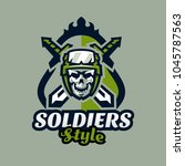 emblem  badge  logotype... | Shutterstock .eps vector #1045787563