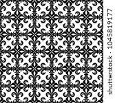 lace de luce  lace of lilies  ... | Shutterstock .eps vector #1045819177