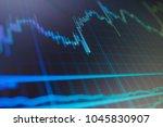 data analyzing in forex market  ... | Shutterstock . vector #1045830907
