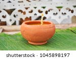 close up and selective focus... | Shutterstock . vector #1045898197