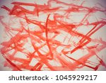 abstract drawing on paper | Shutterstock . vector #1045929217