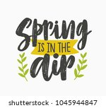 spring is in the air inspiring... | Shutterstock .eps vector #1045944847