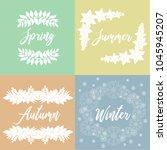 season  seasonal  natural ... | Shutterstock .eps vector #1045945207