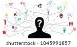 vector illustration of person... | Shutterstock .eps vector #1045991857
