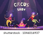 Circus Show With Clowns On...