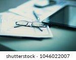 business financial analysis of... | Shutterstock . vector #1046022007