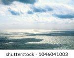 beautiful seascape in the...   Shutterstock . vector #1046041003