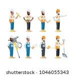 under construction design... | Shutterstock .eps vector #1046055343