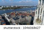 Aerial Photo Of Antwerp The...