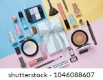 beauty  decorative cosmetics... | Shutterstock . vector #1046088607