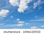 bright sky in spring abstract... | Shutterstock . vector #1046120533