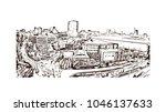 manchester city in england  uk. ... | Shutterstock .eps vector #1046137633