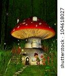 Dwarfs Land  Mushroom House ...