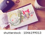 Small photo of GST Tax Canadian Goods and Services or G.S.T. paying tax and tax credit conceptual photography with art illustration of GST lettters, Canadian flag, and money tree representing GST Federal Tax