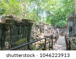 Small photo of Siem Reap, Cambodia - Mar 07 2018: Beng Mealea in Siem Reap, Cambodia. It is part of Angkor World Heritage Site.