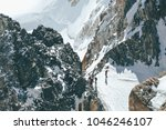 climber in mountains lifestyle... | Shutterstock . vector #1046246107