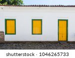 street and old portuguese... | Shutterstock . vector #1046265733