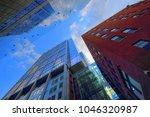 boston  ma  usa october 12 ... | Shutterstock . vector #1046320987