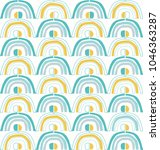 seamless repeating pattern.... | Shutterstock .eps vector #1046363287