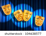 theatre performance concept... | Shutterstock . vector #104638577