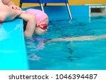 a little girl of european...   Shutterstock . vector #1046394487