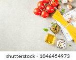 food background  ingredients... | Shutterstock . vector #1046454973