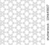 Delicate pattern in arabic style. Vector background