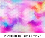 vector abstract background with ... | Shutterstock .eps vector #1046474437