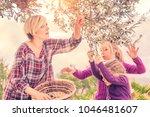 beautiful young blonde woman in ...   Shutterstock . vector #1046481607