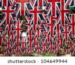British Flags - stock photo