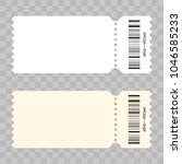 ticket template modern trendy... | Shutterstock .eps vector #1046585233