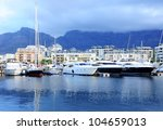 famous v a waterfront of cape... | Shutterstock . vector #104659013